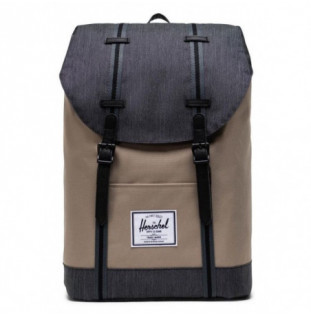 Mochila Herschel: Retreat (Timberwolf/Black Denim)