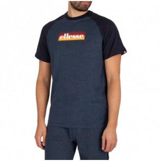 Camiseta Ellesse: Kershaw Tee Shirt (Navy Marl) Ellesse - 1