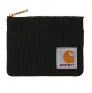 Cartera Carhartt: Canvas Wallet (Black Black)