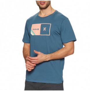Camiseta Hurley: M Halfer Stripe SS (Thunderstorm) Hurley - 1