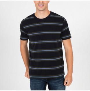 Camiseta Hurley: M Dri Harvey Stripe SS (Black) Hurley - 1