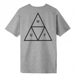 Camiseta HUF: Essentials TT SS Tee (Grey Heather) HUF - 1