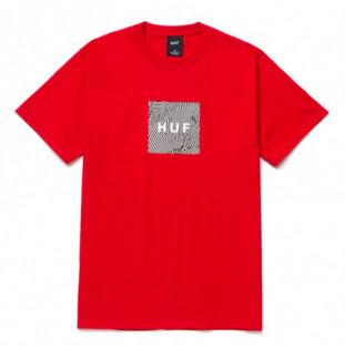 Camiseta HUF: Feels SS Tee (Red) HUF - 1