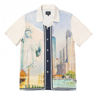 Camisa HUF: Prestige SS Resort Shirt (White) HUF - 1