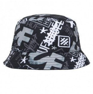 Gorro HUF: Haze Bucket Hat (Black) HUF - 1