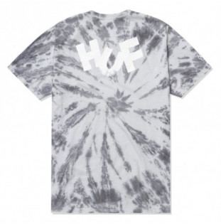 Camiseta HUF: Haze Brush Tie Dye SS Tee (Black) HUF - 1