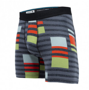 Boxer Stance: Consistency Boxer Brief (Charcoal) Stance - 1