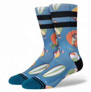 Calcetines Stance: Monkey Chillin (Teal) Stance - 1
