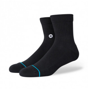 Calcetines Stance: Icon Quarter (Black) Stance - 1