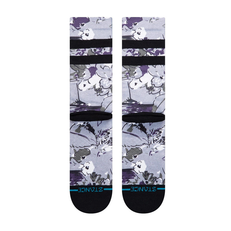 Calcetines Stance: Florence Floral (Grey Heather)