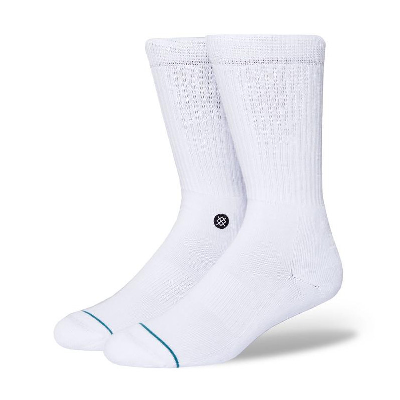 Calcetines Stance: Icon (White Black)