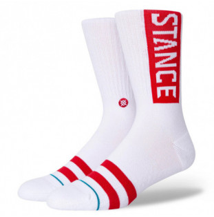 Calcetines Stance: OG (White Red) Stance - 1