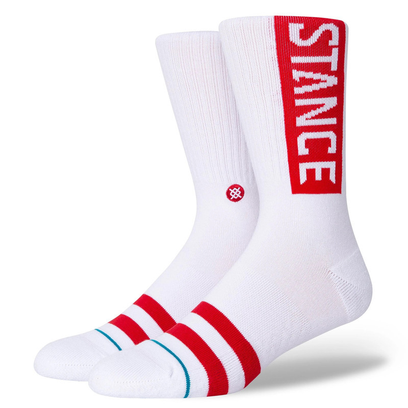 Calcetines Stance: OG (White Red)