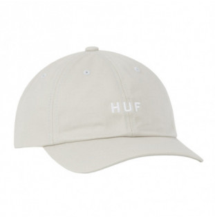 Gorra HUF: Essentials OG Logo CV 6 Panel (Stone)