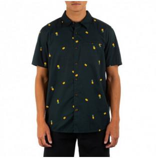 Camisa Hurley: M Org Windansea SS (Black)