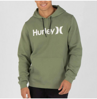 Sudadera Hurley: M One And Only Pullover (Spiral Sage)