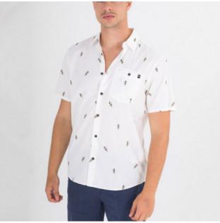 Camisa Hurley: M Org Windansea SS (White)