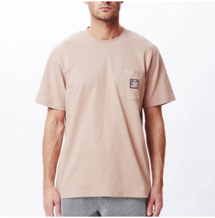 Camiseta Obey: Point Organic Pocket Tee SS (Gallnut)