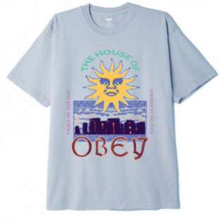 Camiseta Obey: The House Of Obey (Good Grey)
