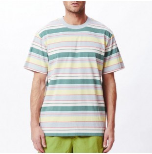 Camiseta Obey: Staple Tee SS (Good Grey Multi)