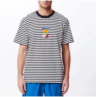 Camiseta Obey: Corban Tee SS (Black Multi)