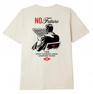 Camiseta Obey: No Future (Cream)