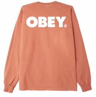Camiseta Obey: Obey Bold LS (Pheasant)