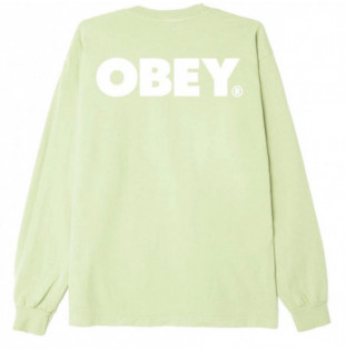 Camiseta Obey: Obey Bold LS (Spirulina)