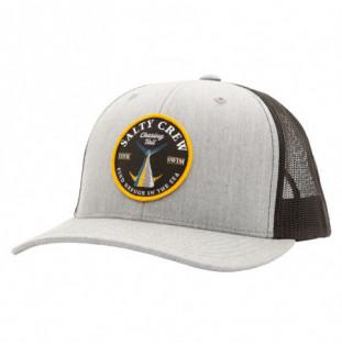 Gorra Salty Crew: Bottom Dweller Retro Trucker (Hea Gry Blk) Salty Crew - 1
