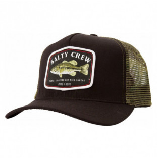 Gorra Salty Crew: Bigmouth Trucker (Black Camo)