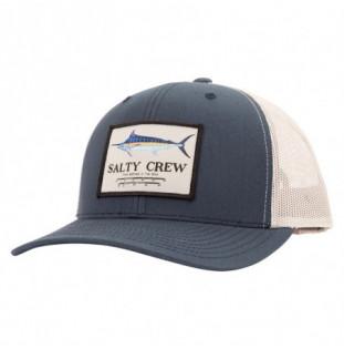 Gorra Salty Crew: Marlin Mount Retro Trucker (Navy Silver)