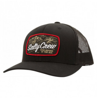 Gorra Salty Crew: Tuna Isle Retro Trucker (Black)