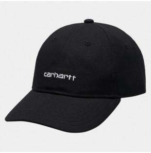 Gorra Carhartt: Canvas Script Cap (Black White) Carhartt - 1