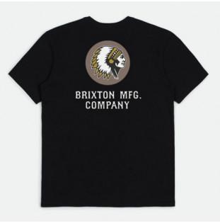Camiseta Brixton: Rival Line SS Tlrt (Black) Brixton - 1