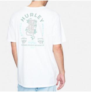 Camiseta Hurley: M Evd Wsh Tiger SS (White) Hurley - 1