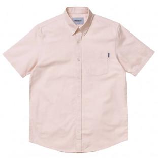 Camisa Carhartt: SS BUTTON DOWN POCKET SHIRT (POWDERY) Carhartt - 1