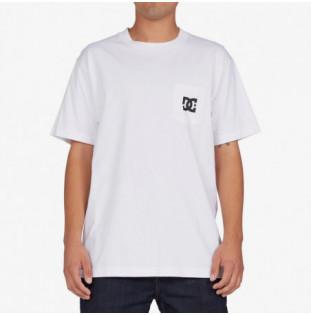 Camiseta DC Shoes: Star Pocket HSS (White) DC Shoes - 1