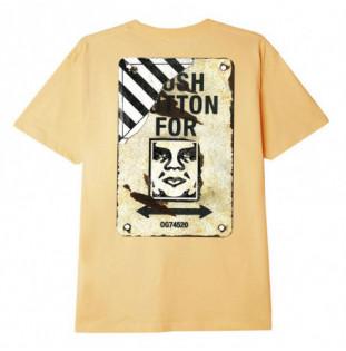 Camiseta Obey: Crosswalk Sign (Croissant) Obey - 1