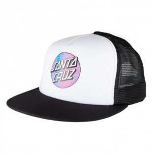 Gorra Santa Cruz: Cap Scales Dot (White Black)