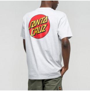Camiseta Santa Cruz: Classic Dot Chest (White) Santa Cruz - 1