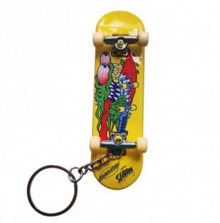 Llavero Santa Cruz: Slasher Fingerboard (Yellow)