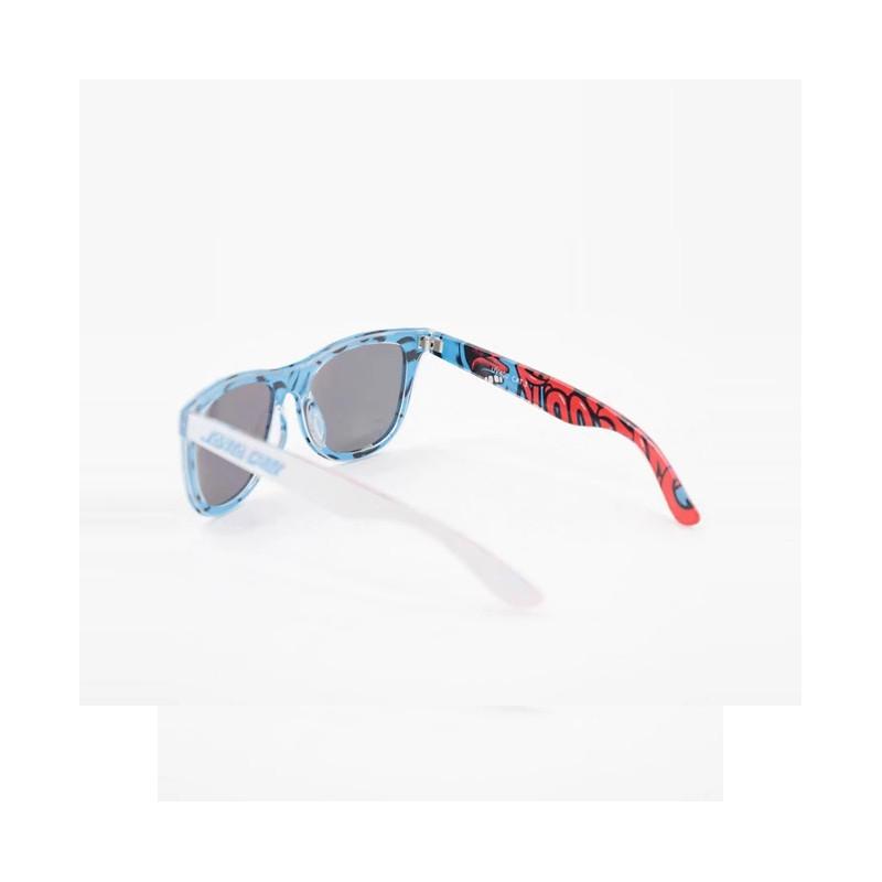 Gafas Santa Cruz: Screaming Insider (White Blue)