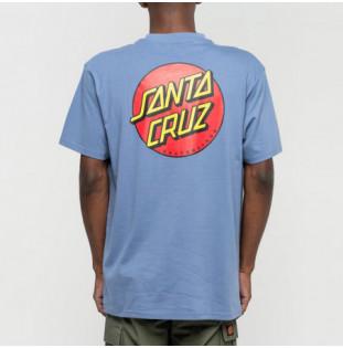 Camiseta Santa Cruz: Classic Dot Chest (W Navy)