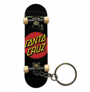 Llavero Santa Cruz: Classic Dot Fingerboard (Black)