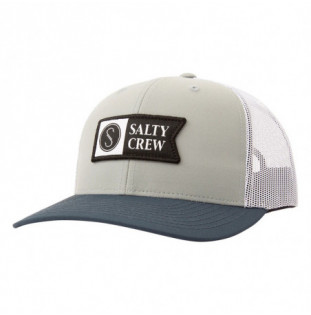 Gorra Salty Crew: Pinnacle 2 Retro Trucker (Sage Indigo)