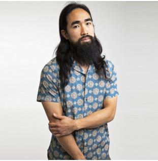 Camisa Rhythm: Kota SS Shirt (Slate)