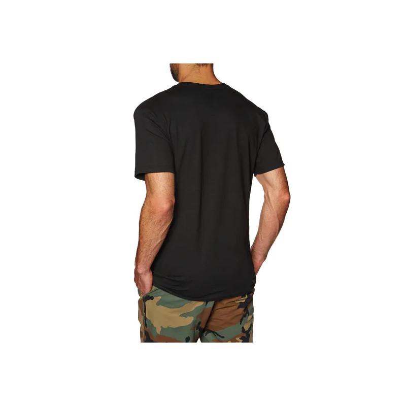 Camiseta HUF: ESSENTIALS OG LOGO SS TEE (BLACK)