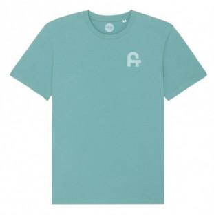 Camiseta Atlas: Mollarri tee (Teal Monstera) Atlas - 1