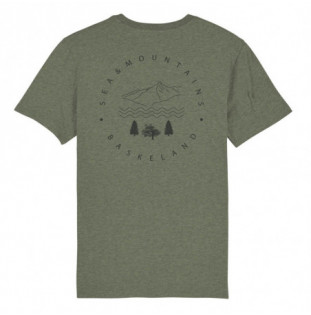 Camiseta Atlas: Itsas & Mendi Tee (Mid Heather Khaki) Atlas - 1