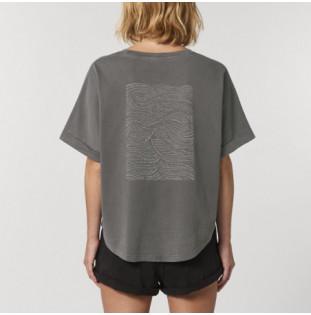 Camiseta Atlas: Haizea Tee (G Dyed Mid Anthracite) Atlas - 1